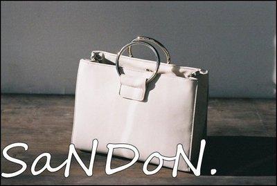 SaNDoN x  MOUSSY 春夏折扣款金屬提把 手提肩背兩用方包 韓妮 SLY  EMDOA 170525