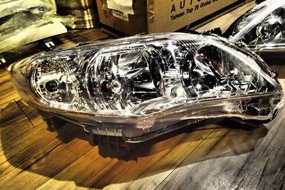 DJD20100926TOYOTA COROLLA ALTIS 2010 /豐田 10.5代 原廠型大燈