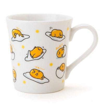 尼德斯Nydus~* 日本正版 三麗鷗 Sanrio 脫力系 療癒系 蛋黃哥 蛋營養 馬克杯 不想上班~