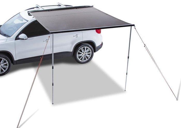 (獨家送快拆組)更容易安裝搭收車邊帳 2*3米 (304不鏽鋼配件) 一體成形汽車側邊遮陽棚 停車帳 車側帳 三分鐘速搭