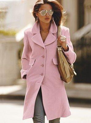 ☆°╮VS流行館╭°☆維多利亞的秘密Victoria's Secret◎時尚羊毛大衣外套(現貨在台)
