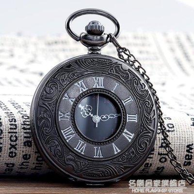 正品創意復古翻蓋羅馬電子懷錶男女學生項鏈掛錶簡約項鏈錶