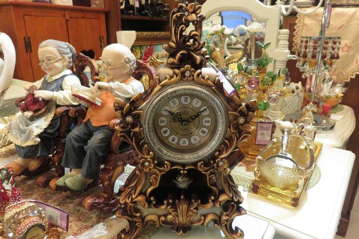 復古華麗桌鐘