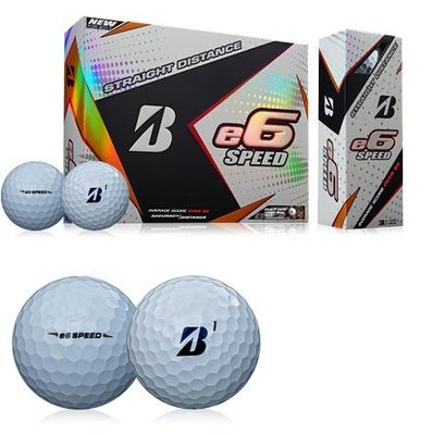 【飛揚高爾夫】Bridgestone e6 Speed 球(3-piece) ,12/DZ ,White 三層球