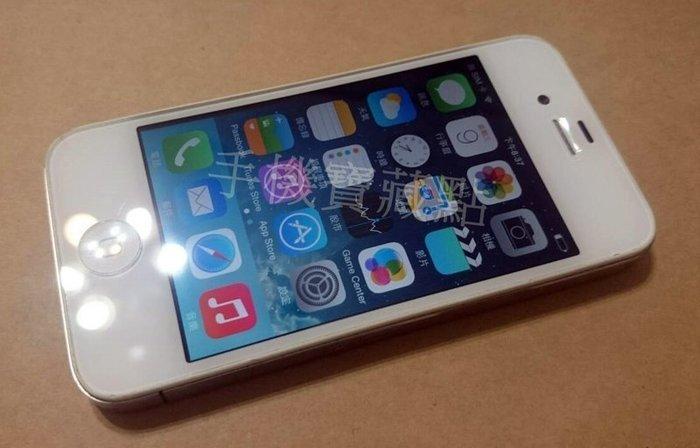 ☆1到6手機☆ 盒裝 iPhone 4 16G 亞太4G可用《全新旅充》所有功能正常 宅配優惠免運 Q22