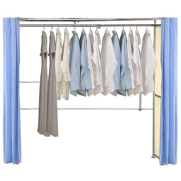 衣櫥【家具先生】AH-03 功能收納袋伸縮衣櫥 (衣櫃/衣架/收納/衣帽間