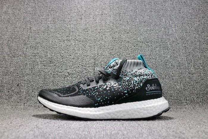 adidas Ultra Boost Mid 黑藍 海洋 經典 休閒運動慢跑鞋 男鞋 CM7882