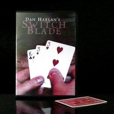 【意凡魔術小舖】Switchblade by Dan Harla--撲克陷阱(三牌術)+DVD