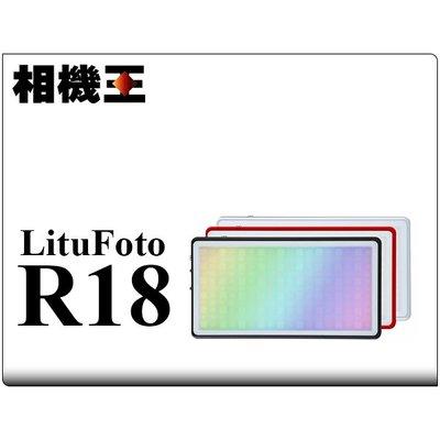 ☆相機王☆LituFoto R18 LED 攝影燈 補光燈〔RGB全彩色〕銀色殼 (2)