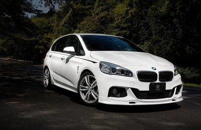 【樂駒】3D Design BMW F45 F46 2er M Sport 前下擾流 前下巴 外觀 空力 套件 素材