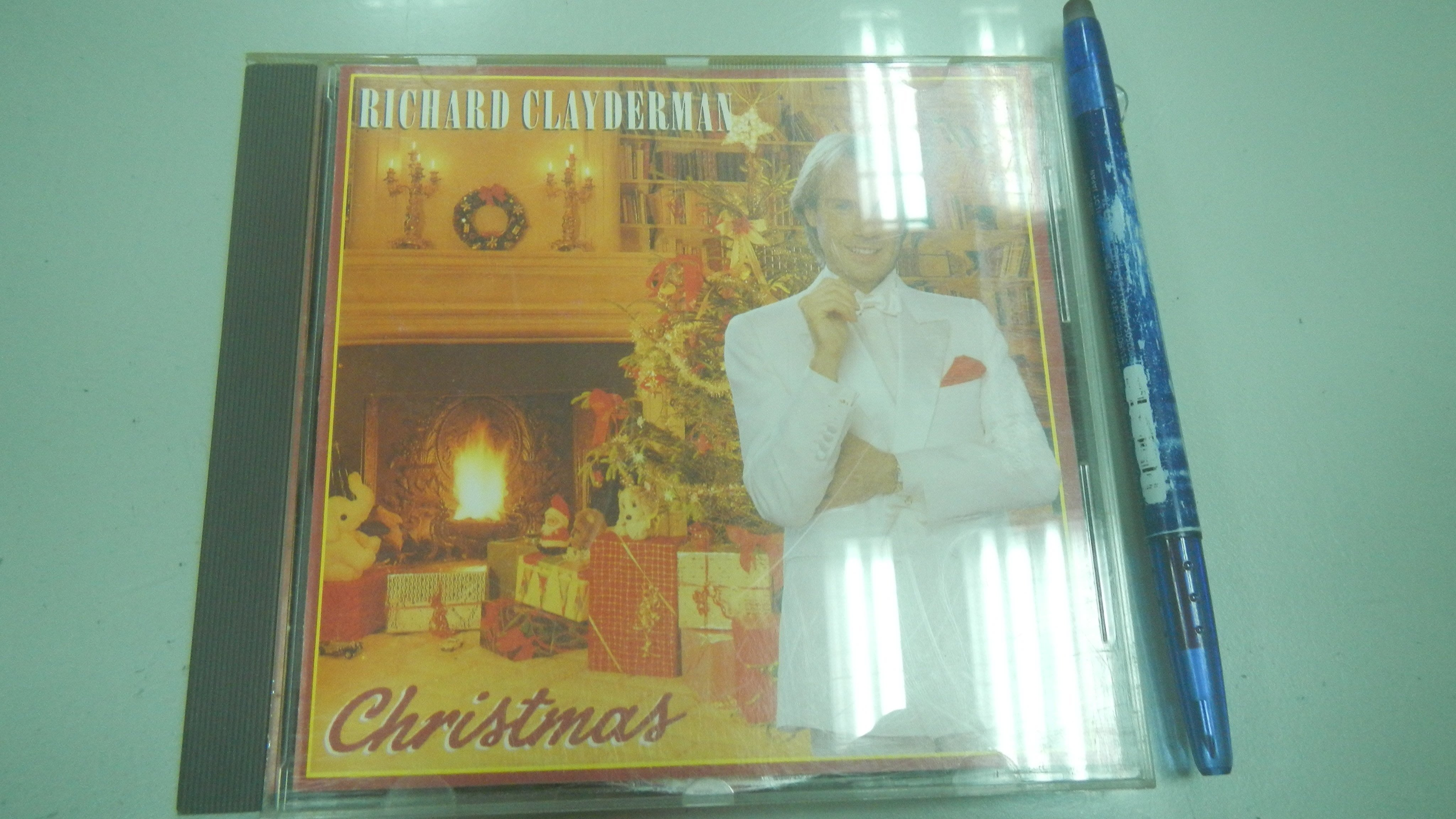 書皇8952:CD D6-2bc☆1986年出版『CHRISTMAS』Richard Clayderman《》