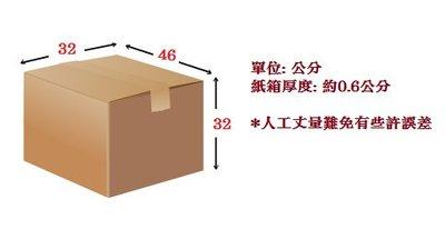 二手紙箱 長46cm 寬32cm 高32cm 搬家 大紙箱 乾淨 無汙染 中古 二手 限面交