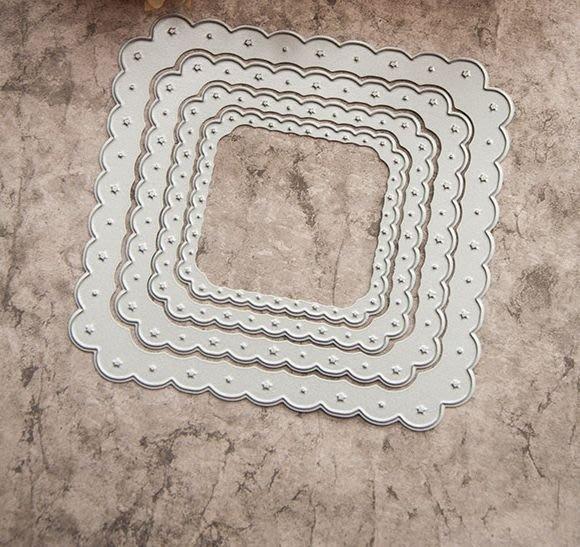 p A刀模多層次 335圓點花邊349元 貝登堡牧莎DIY手作 卡片印章凹凸版銅片結婚禮珍