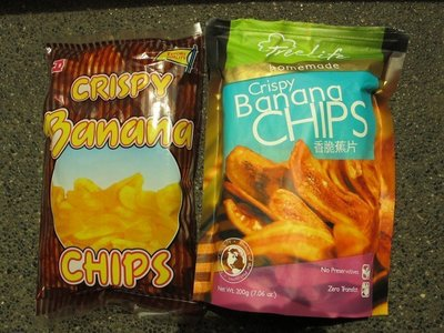 超級脆牌香蕉脆片菲律賓香蕉餅乾長灘島香蕉乾Crispy Banana Chips x 6包(每包119元)