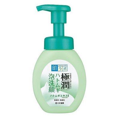 【美妝行】日本 ROHTO 肌研 極潤 薏仁 保濕泡沫 洗顏乳160ml