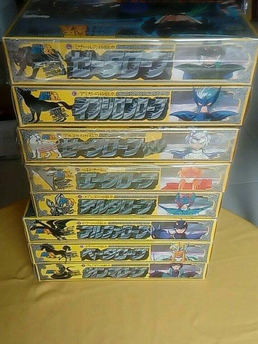 聖鬥士星矢-日版聖衣大系 北歐神鬥衣共八盒(含限定白虎) 每盒均為新品 一次收藏 一次齊全不易