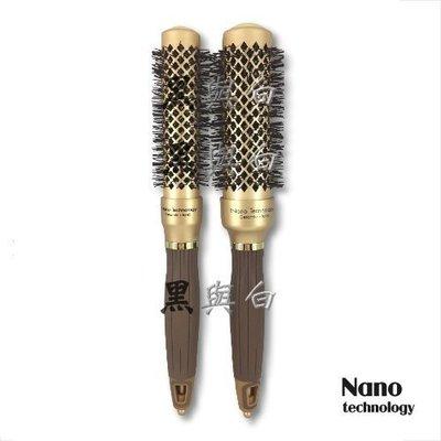 Nano technology 負離子K金導熱圓梳