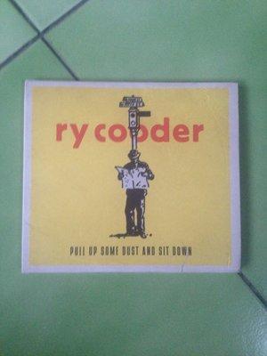 (下標即結標)Nonesuch-RY COODER-PULL UP SOME DUST AND SIT(歐洲版)