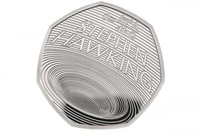 [現貨] 霍金 黑洞 紀念幣 全新 現貨在台不用等 Stephen Hawking