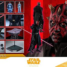 16/7 VIP折扣單 HOT TOYS Hottoys DX18 SOLO :A Star Wars Story DARTH MAUL