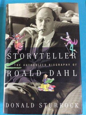 Storyteller The Authorized Biography of Roald Dahl  羅蘭道爾傳~精裝