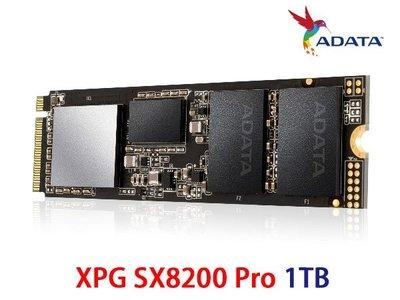 「Sorry」威剛 XPG SX8200 Pro 1TB M.2 2280 PCIe 3D TLC 含散熱片
