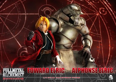 Threezero 3A 鋼之鍊金術師 愛德華 阿爾馮斯 Alphonse & Edward [Twin-Pack]