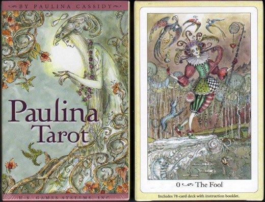 【牌的世界】寶琳娜塔羅牌  Paulina tarot(78張全新)