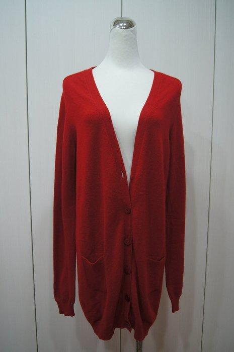Cristiano Fissore  紅色寬版針外套    原價   43000    特價 6800