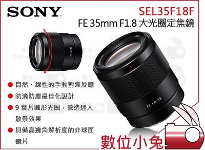 數位小兔【SONY FE 35mm F...