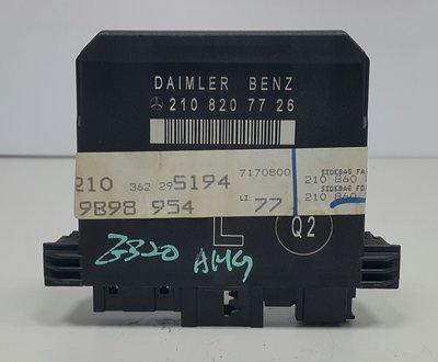 BENZ W210 96-02 電動窗電腦 電動窗繼電器 車門控制器 車門電腦 (左邊 記憶用) 2108207726