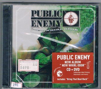 [鑫隆音樂]西洋CD-人民公敵 Plubic Enemy : New Whirl Odor -CD+DVD {全新}