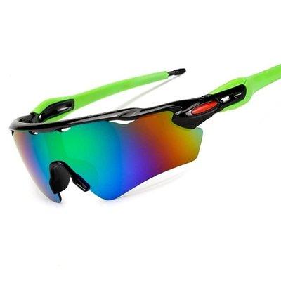 防爆運動太陽鏡防風自行車墨鏡戶外騎行眼鏡/9275單幅