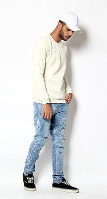 100%真品 近全新 英國 MTWTFSS weekday 直筒刷紋牛窄褲 單寧 friday 超低價轉賣 32腰
