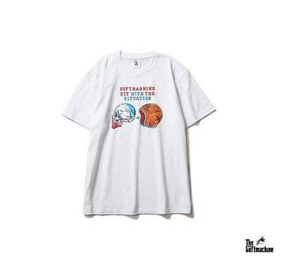 GOODFORIT / 日本Softmachine SITUATION T-Shirt骷髏安全帽上衣/兩色