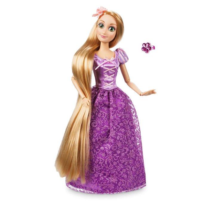 【100%美國迪士尼正品】Disney Princess Tangled 魔髮奇緣 長髮公主 樂佩公主 芭比娃娃 玩偶