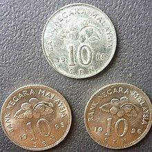 [小章寶店] 1元起標/運費不合併/  8020新加坡各年代(10 CENTS)錢幣.(3件合拍.美品.保真).