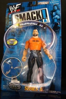2000 美職摔角 WWF 系列  之  SMACK DOWN! 【 TAZZ - 泰茲 】