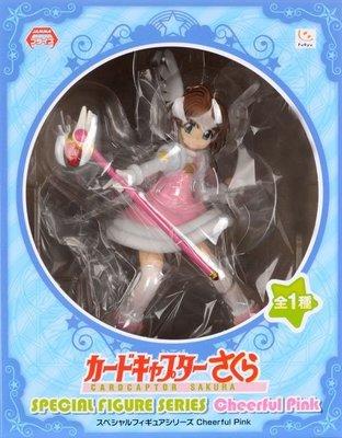 日本正版 furyu CLAMP 庫洛魔法使 木之本櫻 小櫻 Cheerful Pink 模型 公仔 日本代購