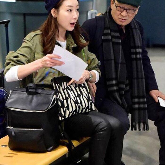 Cutie-NewBag【AA00634】韓劇第二次20歲崔智友花樣爺爺同款大容量後背包書包
