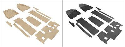 DIP 3D 卡固 立體 腳踏墊 極緻 紋理 防水 Toyota 豐田 Sienna 七人座 XL30 12+ 專用