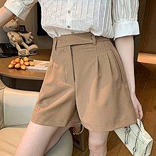 ❤公主的著衣❤韓國空運~休閒寬管高腰短褲