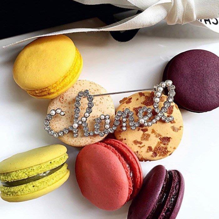 Chanel CHANEL Brooch 珍珠水晶別針