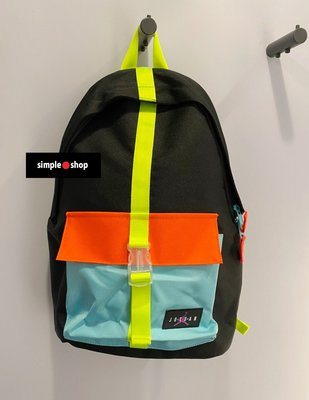 【Simple Shop】NIKE JORDAN 背包 雙肩 喬丹 後背包 黑彩色 可放13吋電腦 9A0402-026