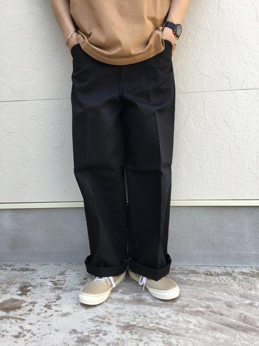 BEN DAVIS - GORILLA CUT大版型工作長褲 黑-猿人 饒舌 嘻哈 工裝 滑板 DICKIES