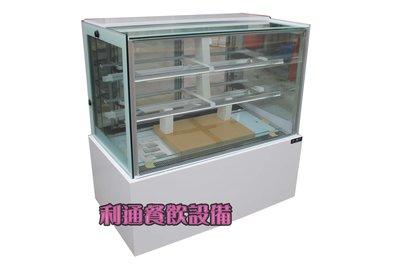 《利通餐飲設備》有現貨 瑞興方形蛋糕櫃 冷藏蛋糕展示櫃 白色展示櫃 展示冰箱