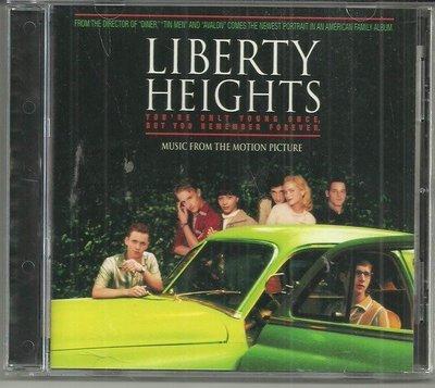 R西洋團(二手CD)Liberty Heights~電影原聲帶~