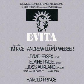 歐版全新CD~音樂劇 艾薇塔Evita (Original London Cast Recording)原始倫敦卡司精華版~Elaine Paige