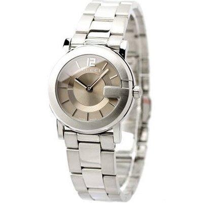 GUCCI 古馳 手錶 G-Round 義大利 大G錶殼 對錶 小尺寸 上班族 生日 禮物 情人節 YA101516
