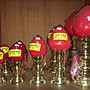 【佛讚嘆】7號福祿燈 豐年燈 神明燈 公媽燈 光明燈 佛燈 祖先燈 供燈宗教用品 符合安規 LED燈泡 都是一對價